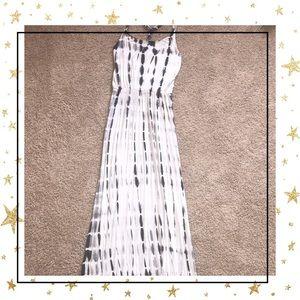 Cynthia Rowley Tie Dye Maxi Dress Halter Medium